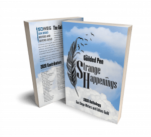 The Guilded Pen - Strange Happenings anthology cover