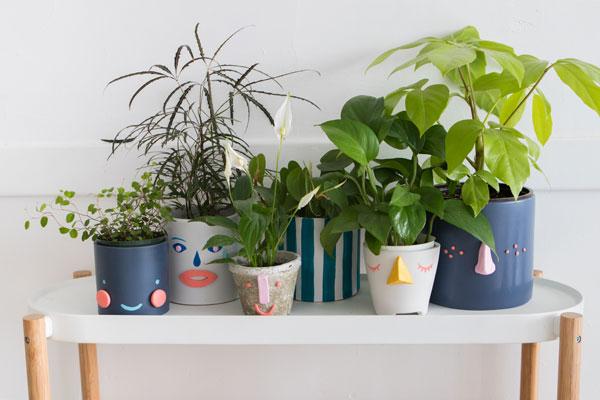 Jardineras de Cara DIY | ¡Oh dia feliz!