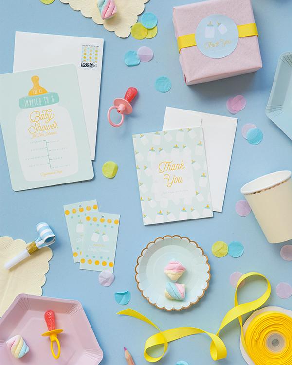 3 ideas de la ducha del bebé | ¡Oh dia feliz!