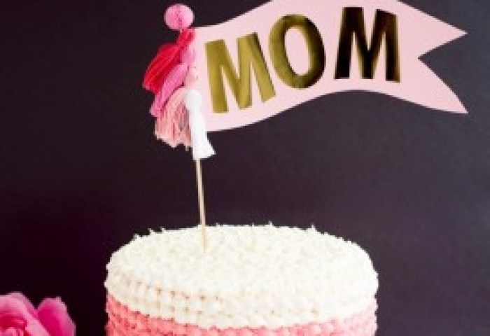 Mothers Day Cake Topper