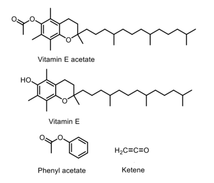 An image showing chemical structures