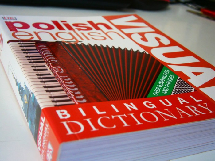 Polish-English visual dictionary