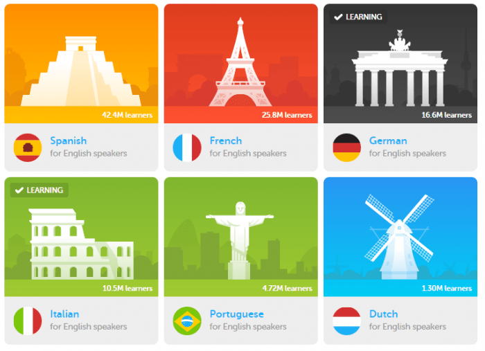 Learn languages online | Ladyofawesome.com