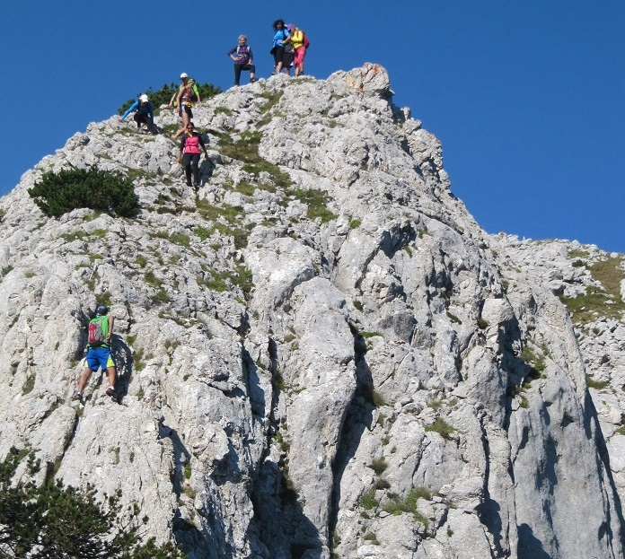 Hiking in Durmitor, Montenegro - one of the most challenging parts