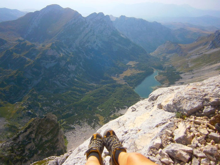 To this day, this is the most beautiful view I've ever seen in my life. Bobotov Kuk, Montenegro