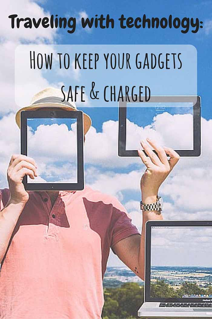 This is my ultimate go-to list of gadgets and rules when traveling with technology, so I can keep all my devices safe, charged and useful.
