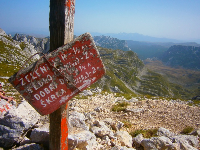 A perfect Durmitor view.