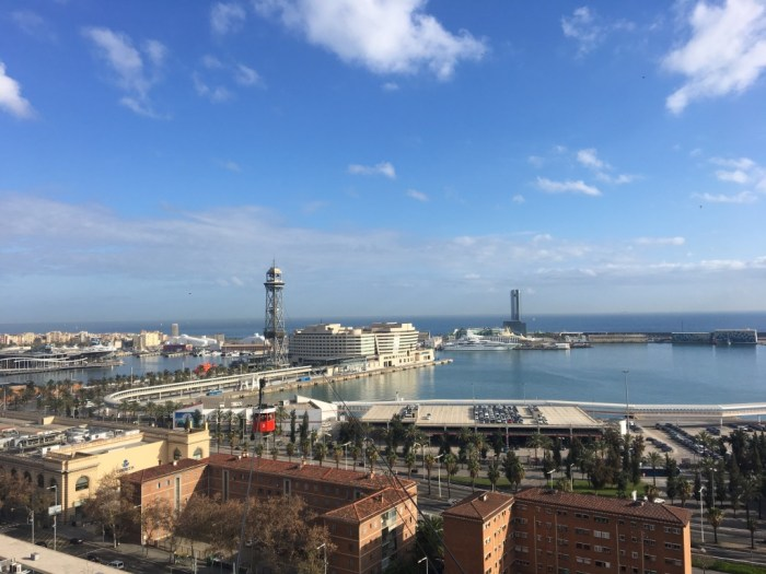 View from Park Montjuïc | Lady of Awesome