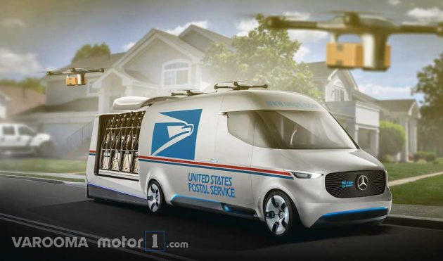 What If USPS Has Hummer Or Tesla As Part Of Their Delivery Fleet