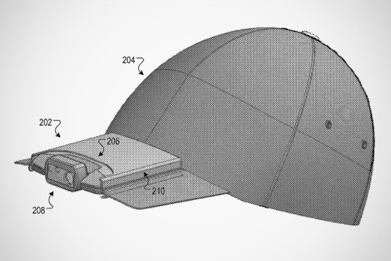 Google Granted Patent For A Hat With A Video Camera