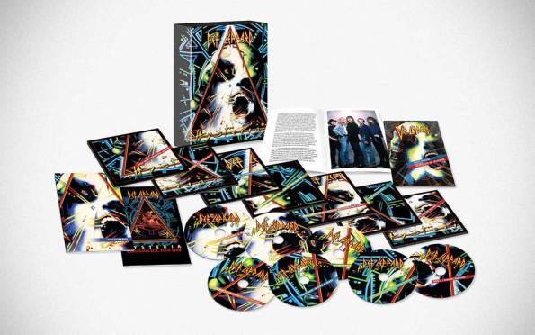 Def Leppard Hysteria 30th Anniversary Edition DVD + Audio