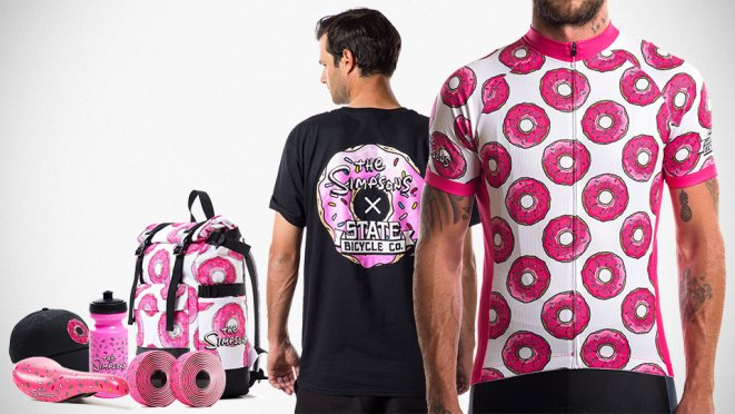 The Simpsons x State Bicycle Co. Limited Edition Accessories