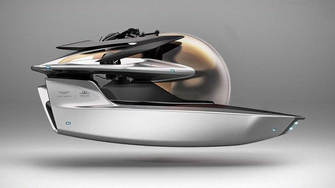 Aston Martin Submarine and Powerboats at Monaco