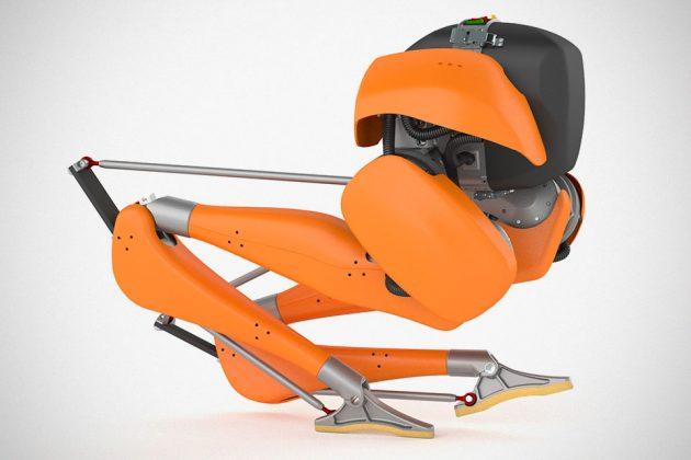 Cassie Bipedal Robot by Agility Robotics