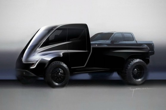 Elon Musk Confirms A Tesla Pickup Truck