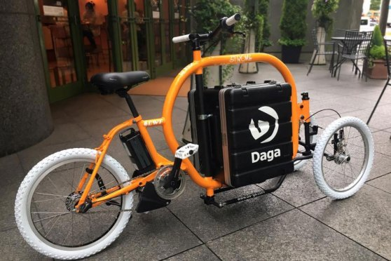 Meet Stroke, The Amazing Tilting Electric Cargo Tricycle | SHOUTS