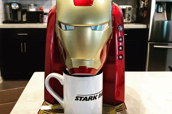 Iron Man Coffee Maker: There's No Javis  It Just Makes Java | SHOUTS