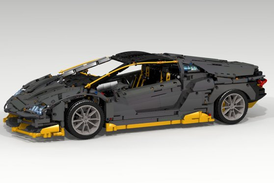Should This LEGO MOC Lamborghini Centenario Be An Official LEGO Set