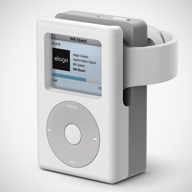 Elago Classic iPod W6 Stand for Apple Watch