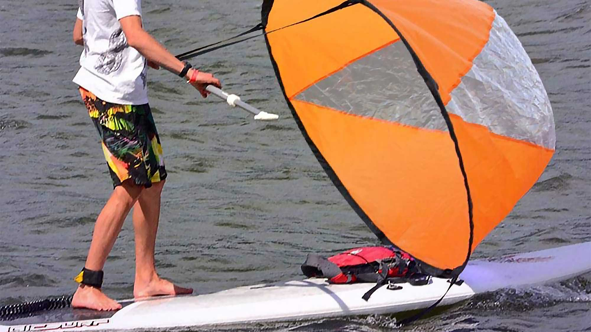 Pop Up Wind Sail Is For Those Paddle Boarders And Kayakers