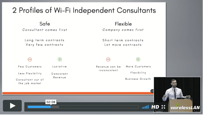 Working as an independent wi-fi consultant