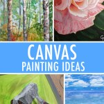 5 Canvas Painting Ideas For Inspiration