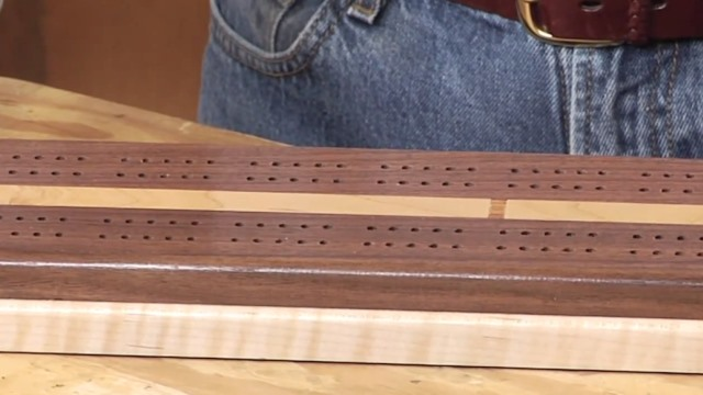 Cribbage Board Plans WWGOA Woodworking Project Videos