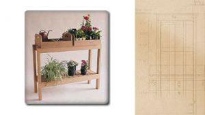 DIY Plant Table Plan