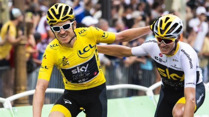 Tour of Britain | Geraint Thomas and Chris Froome to ride 2018 OVO Energy  Tour of Britain