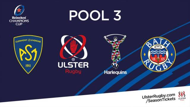 Image result for ulster champions cup fixtures