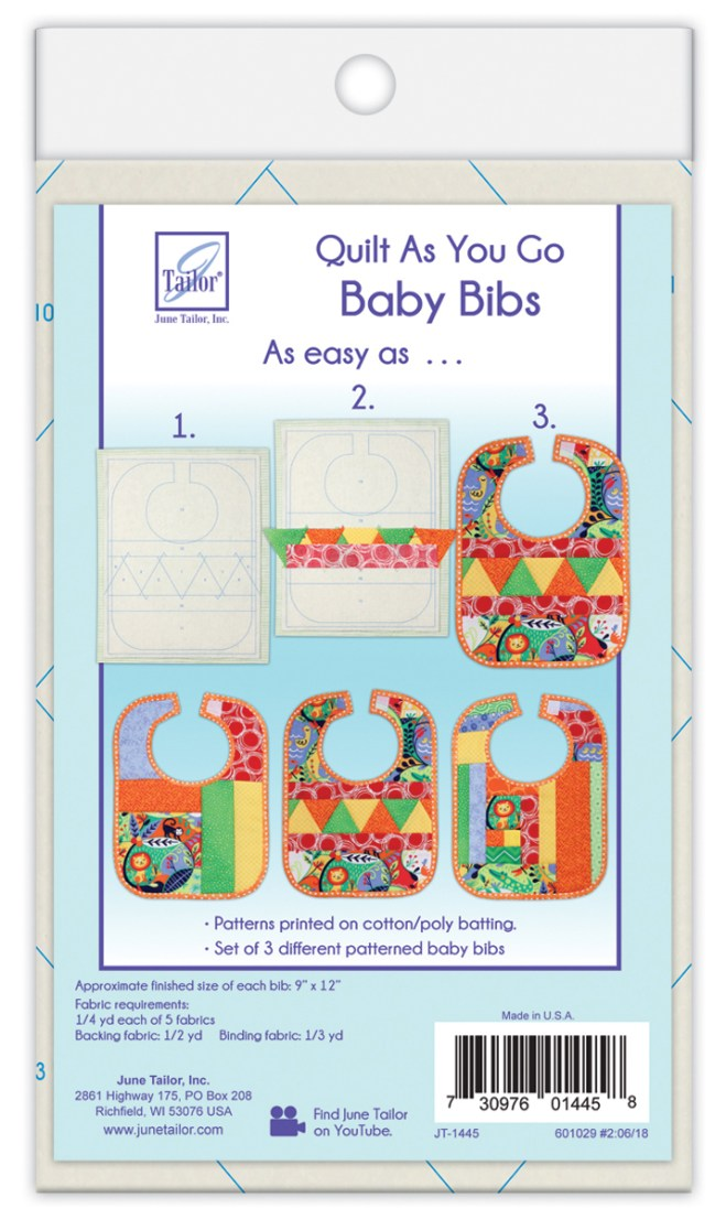 June Tailor Quilt As You Go Baby Bibs (3)