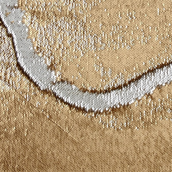 Telio Flashdance Sequin Mermaid Gold/Silver Fabric