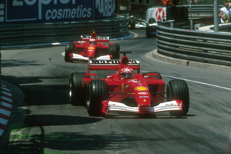 Image result for Michael Schumacher's F2001 Ferrari sells for $7m at auction