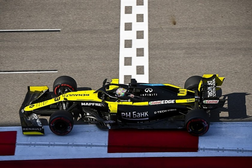 GP Russia 2020 Renault