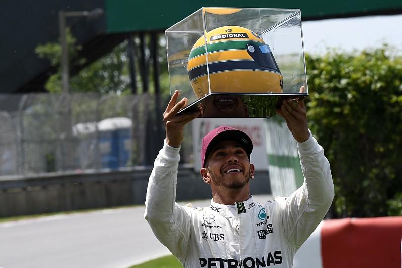 Ayrton Senna's family explains Lewis Hamilton helmet gift confusion - F1 -  Autosport