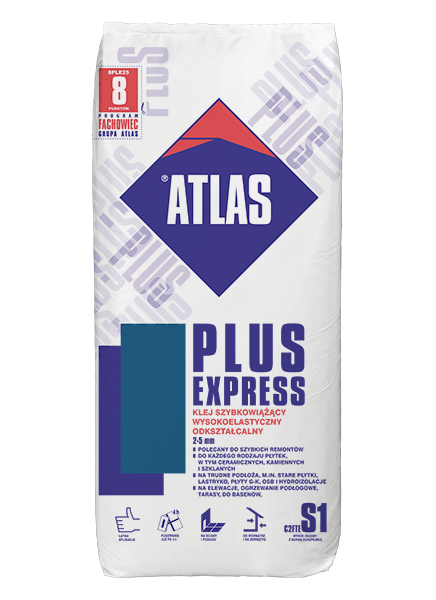 https www baubay de atlas plus express fastbonding tile adhesive with increased flexibility and adhesion c2tes1 2 5 mm html