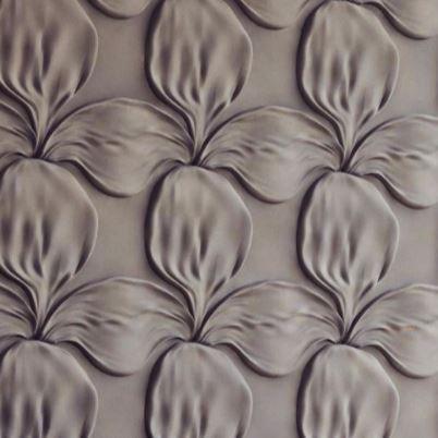 3D Wandpaneele FLOWER › Wandwerkleidung aus GIPS