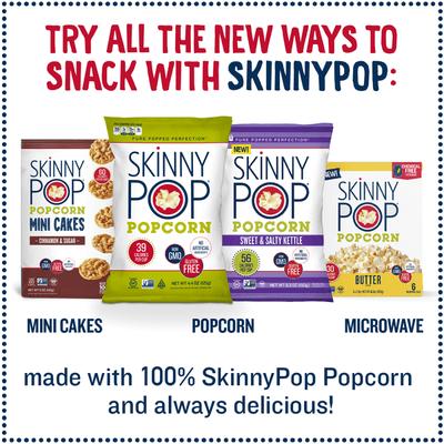 skinnypop microwave popcorn sea salt