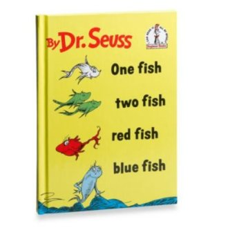 Dr Seuss Beginner Books, One Fish Two Fish Red Fish Blue Fish