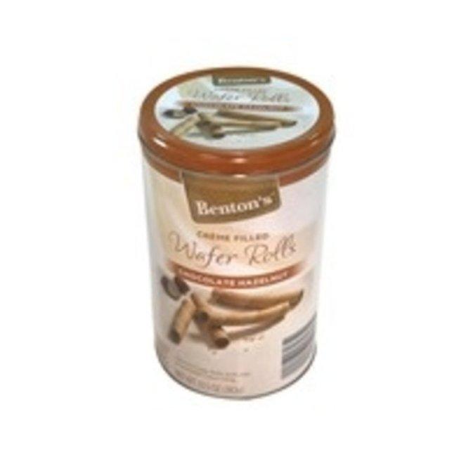 Benton's Chocolate Hazelnut Wafer Rolls