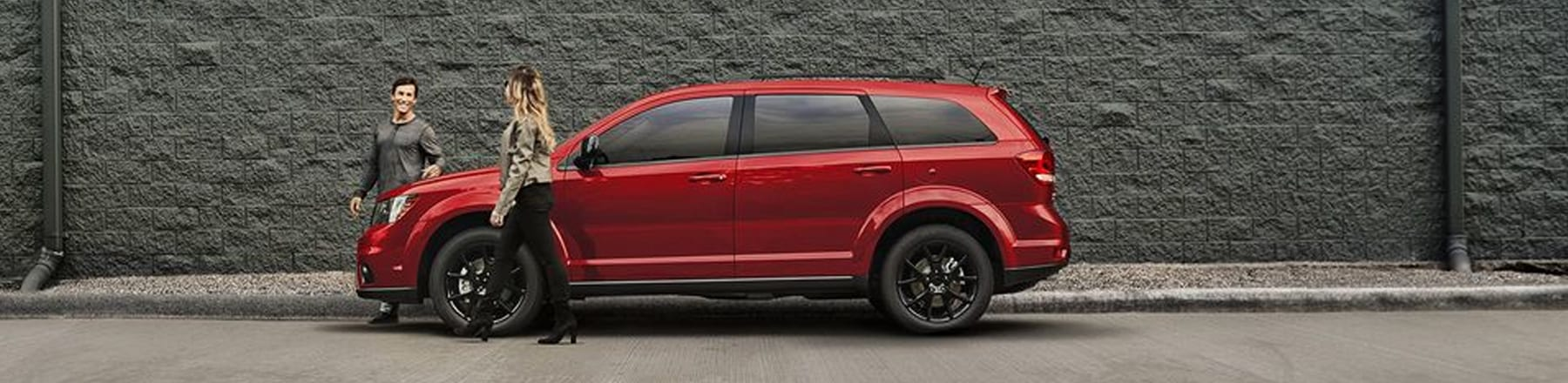 Side view of 2018 Dodge Journey parked