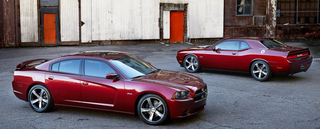 100th anniversary 2014 dodge charger and challenger