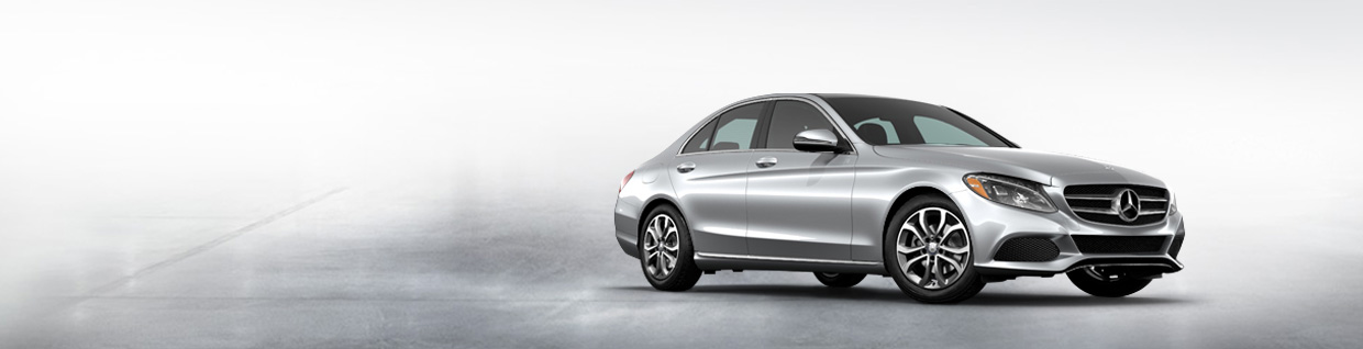 Mercedes-Benz C-Class model banner