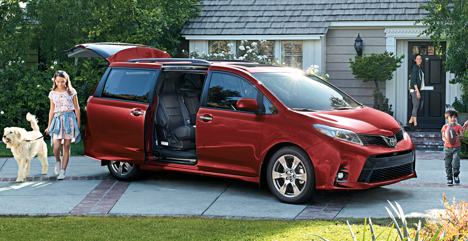 The 2019 Toyota Sienna