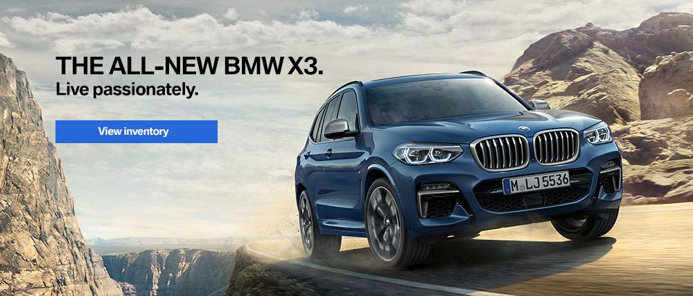 2018 BMW X3 View Inventory