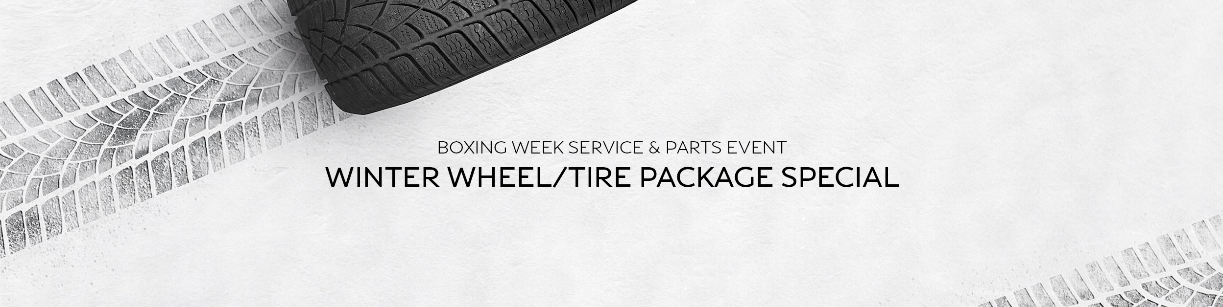 Boxing Week Service & Parts Event