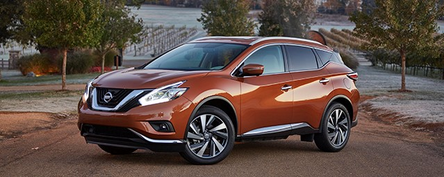 "Nissan Murano selected as ""Best Midsize SUV of 2016"" by Cars.com"
