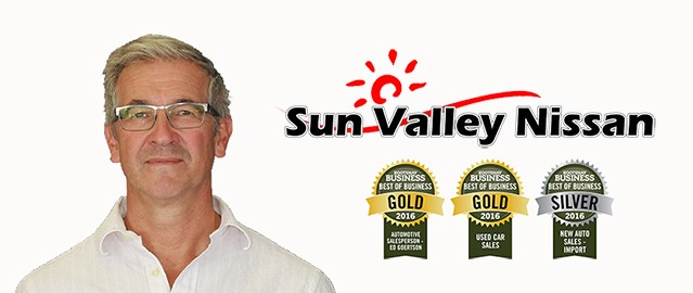 Best Of Business: Ed Goertson Wins Gold For Sun Valley Nissan