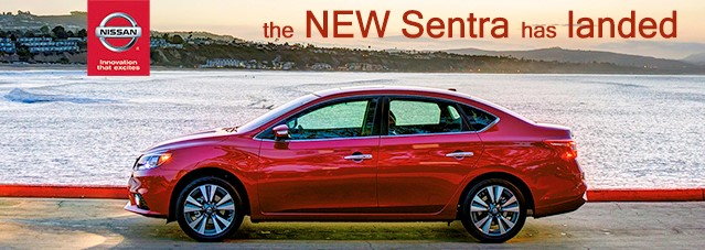 The New 2016 Nissan Sentra Has Landed