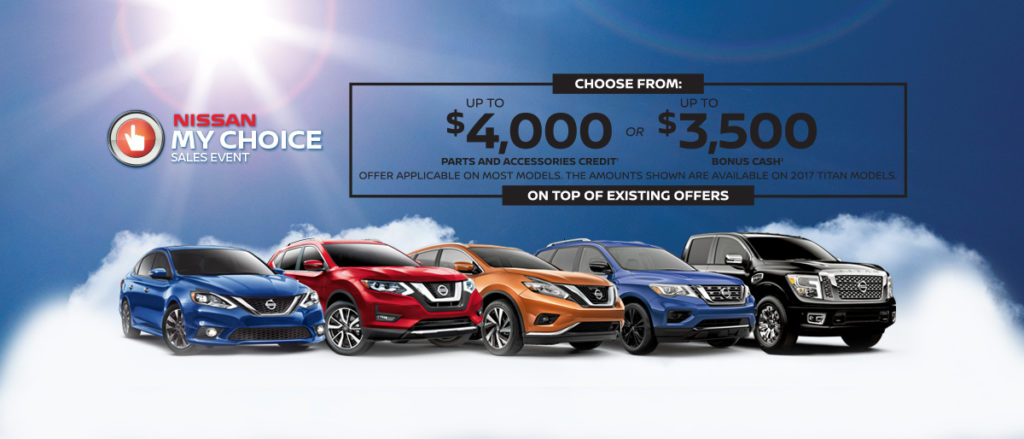 Sun Valley Nissan – My Choice – Nissan Lineup